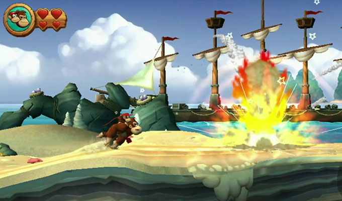 Donkey Kong Country Returns 3D 3DS (2)