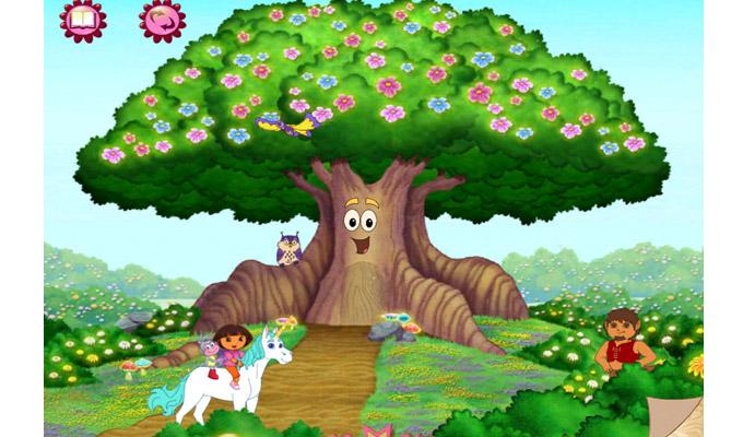 Dora l'Exploratrice Dora et la forêt enchantée iPad