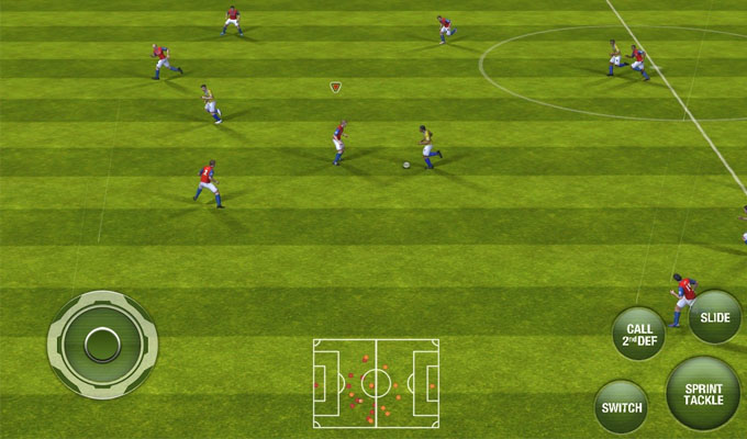 Photo du jeu FIFA 13 sur iPhone