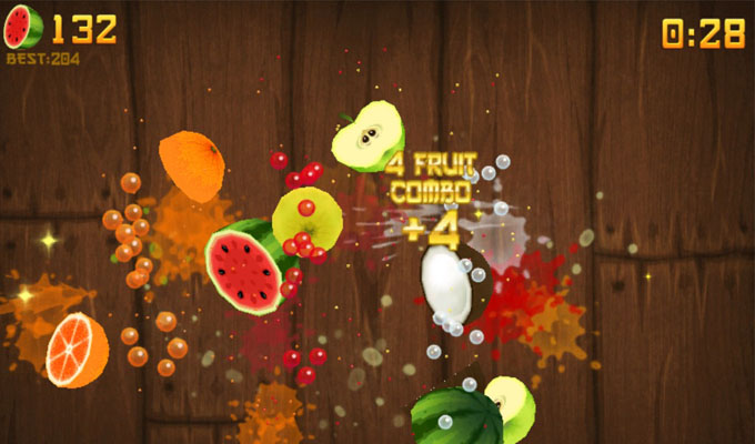 Photo du jeu Fruit Ninja sur iPhone