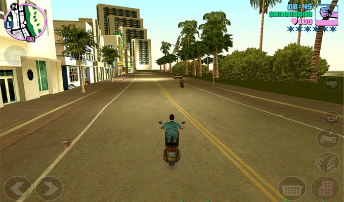 Photo du jeu Grand Theft Auto Vice City sur iPhone