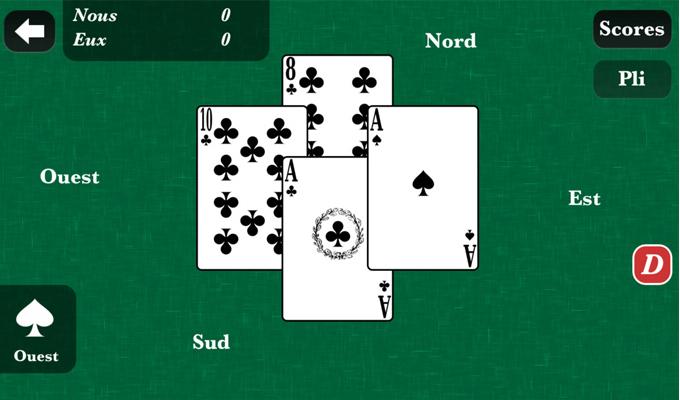 Aperçu du jeu La Belote sur iPhone