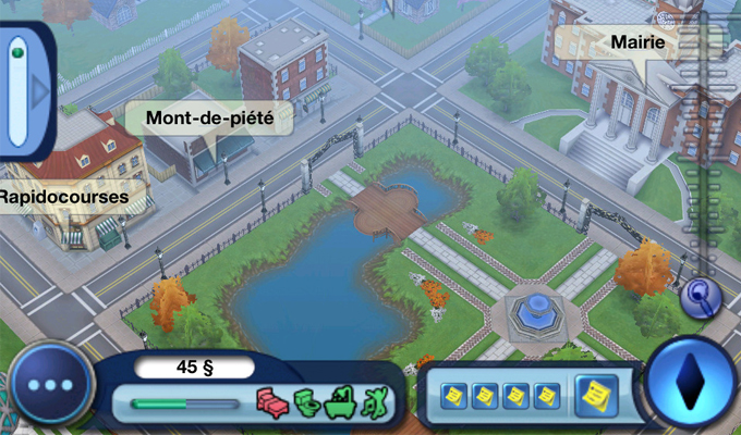 Photo du jeu Les Sims 3 sur iPhone