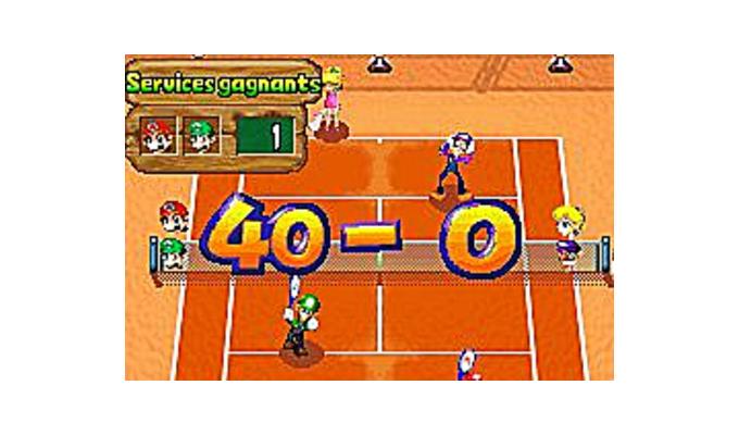 Mario Tennis Power Tour Game Boy Advance-2