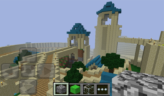 Photo du jeu Minecraft sur iPhone