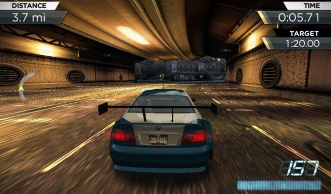 Photo du jeu Need for Speed Most Wanted sur iPhone