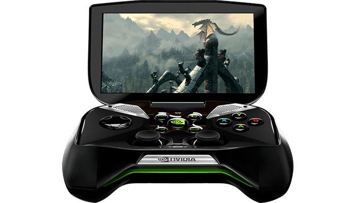 Photo de la console portable Project Shield