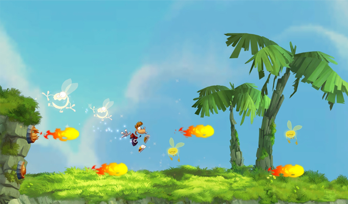 Photo du jeu Rayman Jungle Run sur iPhone