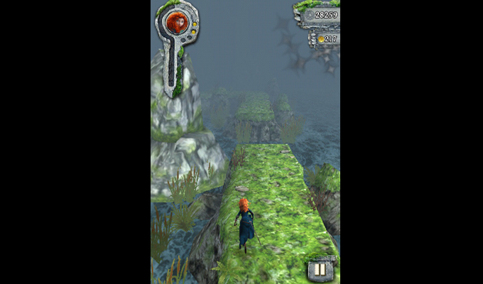 Photo du jeu Temple Run Rebelle sur iPhone