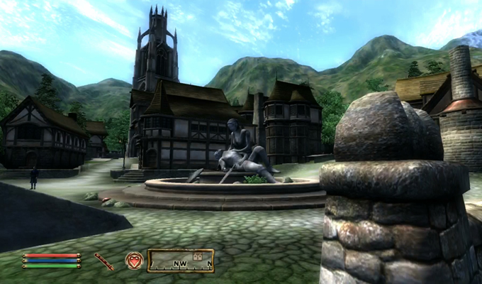 The Elder Scrolls IV Oblivion Xbox 360 2