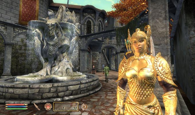 The Elder Scrolls IV PS3 2