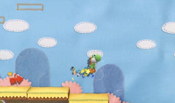 Yarn Yoshi Wii U (2)