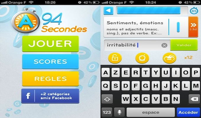 Photo du jeu 94 Secondes Gratuit sur iPhone