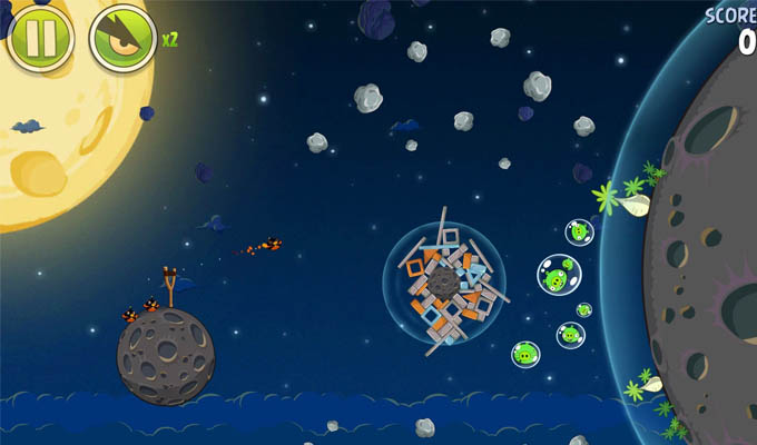 Angry Birds Space HD iPad-2