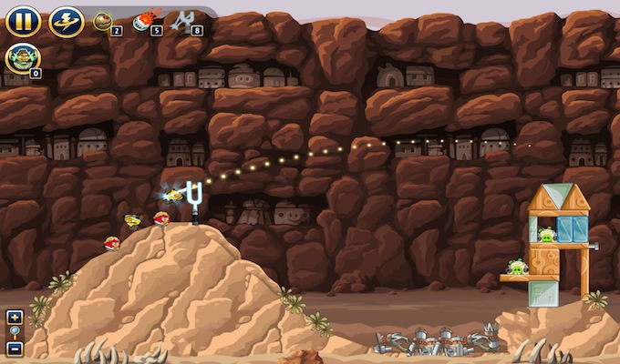 Photo du jeu Angry Birds Star Wars Gratuit sur iPhone