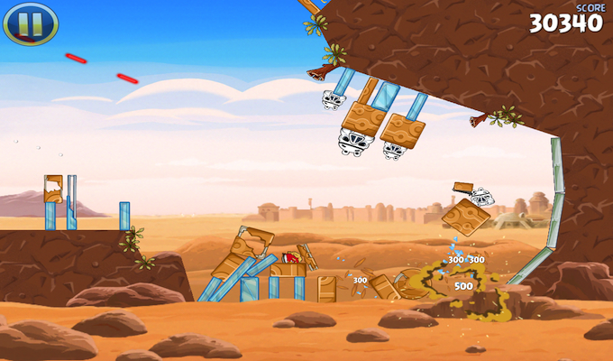Angry Birds Star Wars HD  Gratuit iPad-2