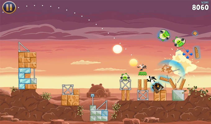 Angry Birds Star Wars HD iPad-2