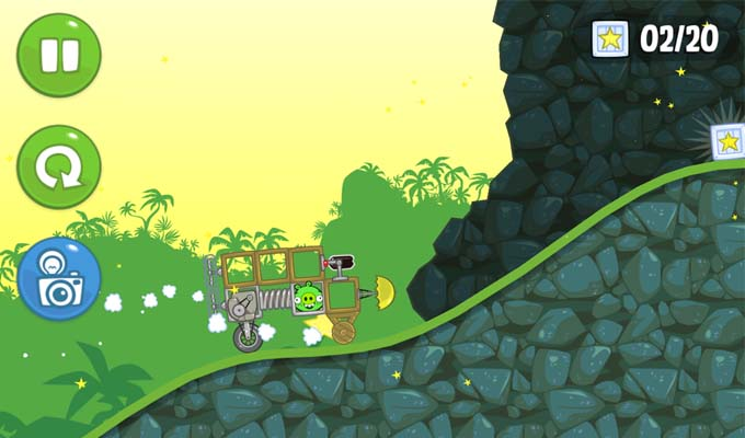 Bad Piggies HD iPad-2