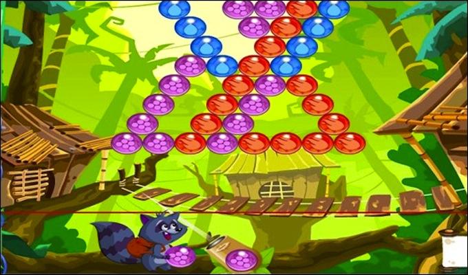jeu gratuit bubble land