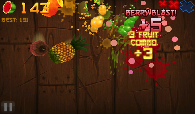 Fruit Ninja  Gratuit iPhone-2