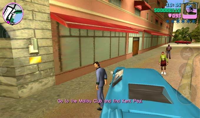 Grand Theft Auto Vice City iPad-2