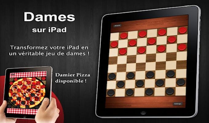 Jeu de dames Gratuit iPad-3