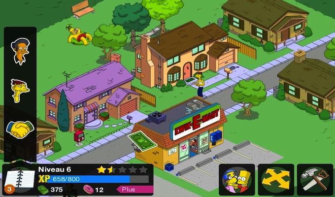 Les Simpson Springfield Gratuit iPad-2