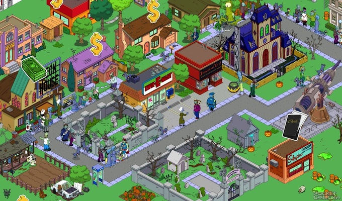 Les Simpson Springfield Gratuit iPhone-2