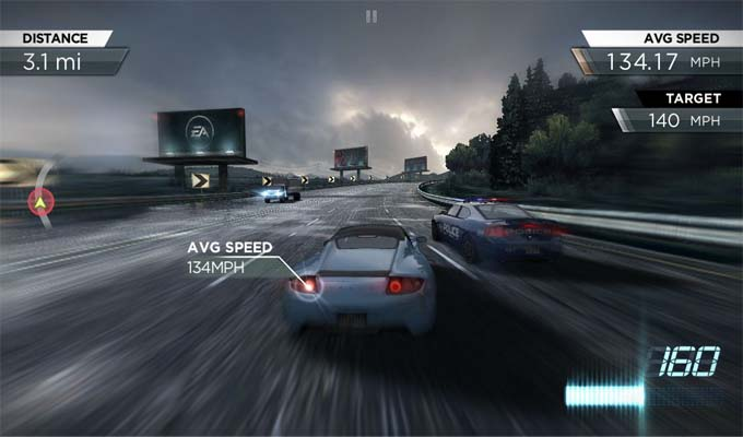 Need for Speed Most Wanted iPad-2