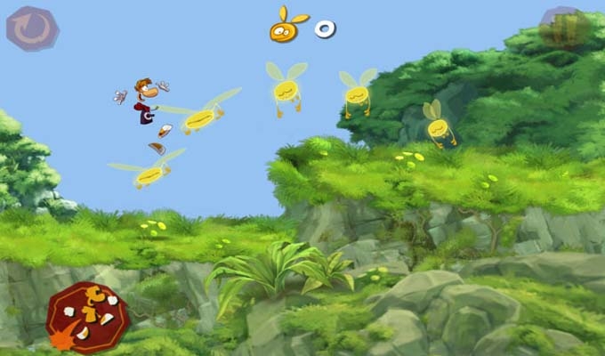 Rayman Jungle Run iPad-2