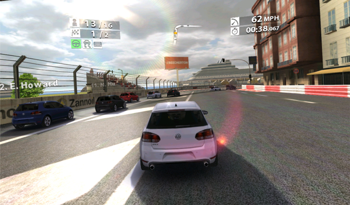 Real Racing 2 HD iPad-2