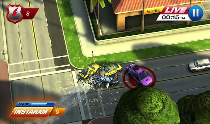 photo du jeu smash cops heat gratuit sur ipad - Jeu Gratuit Info