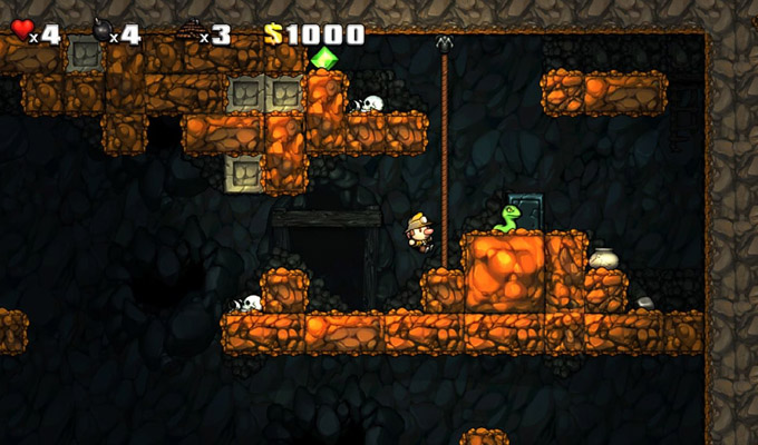 Spelunky PS3 2