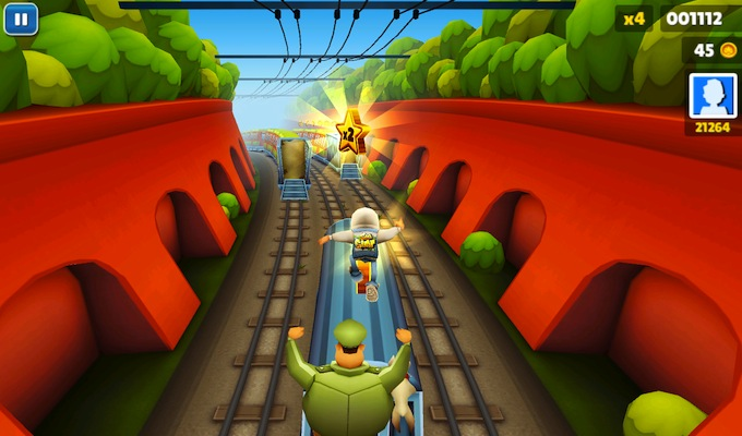 Photo du jeu Subway Surfers Gratuit sur iPhone