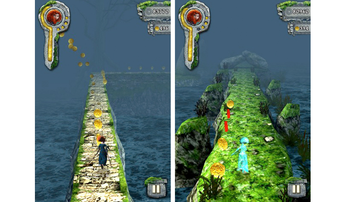 Temple Run Rebelle iPad-2