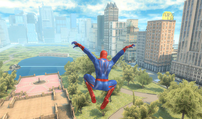 The Amazing Spider-Man iPad-2