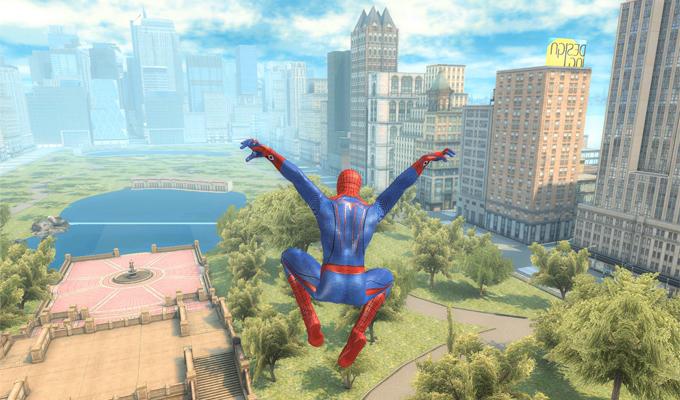 The Amazing Spider-Man iPad-2