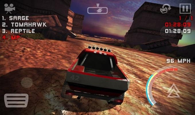 Uber Racer 3D Sandstorm Gratuit iPhone-2