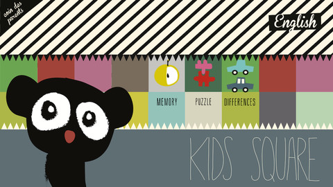 Photo du jeu Kids Square sur iPad