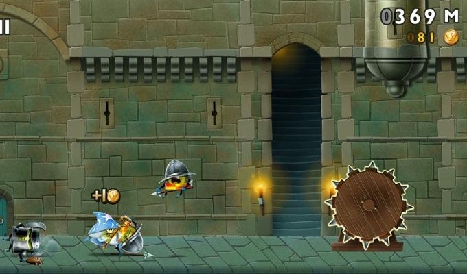 Photo du jeu Super Kiwi Castle Run