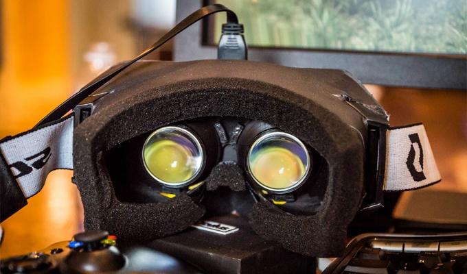 Photo des lunettes 3D Oculus