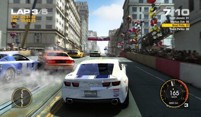 Photo du jeu DrivR compatible avec les lunettes Oculus Rift 3D