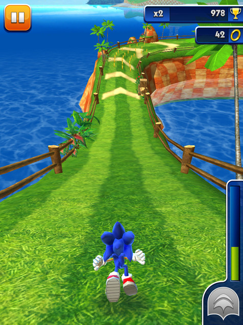 Photo du jeu Sonic Dash sur iPhone