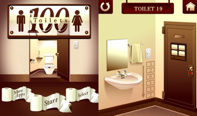 Photo du jeu 100 Toilets Room Escape