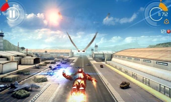 Photo du jeu Iron Man 3 sur iPad