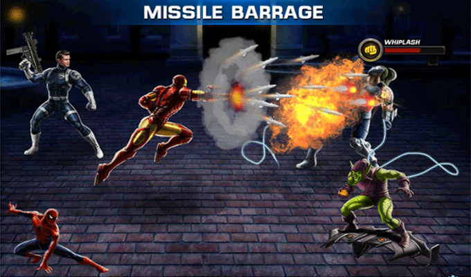 Photo du jeu Avengers Alliance