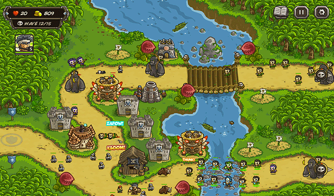 Photo de Kingdom Rush Frontier iPhone