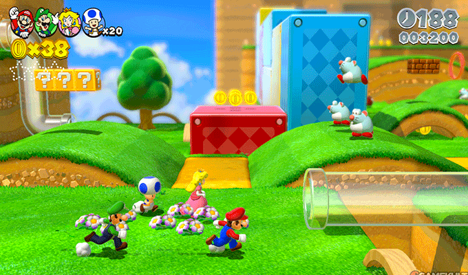 Photo de Super Mario 3D World