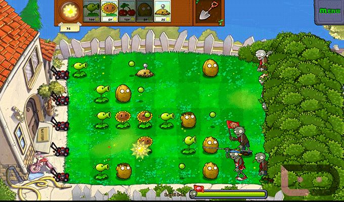 Photo de Plants vs. Zombie Android
