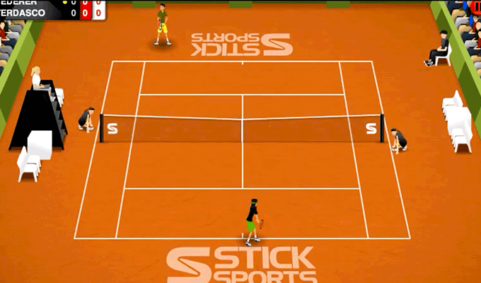Photo de Stick Tennis iPhone